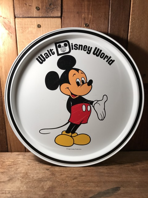 vintage disney world mickey mouse metal tray (44)