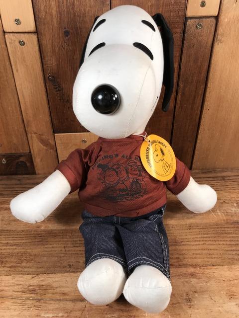 Vintage Ideal Peanuts Snoopy Rag Doll (4)