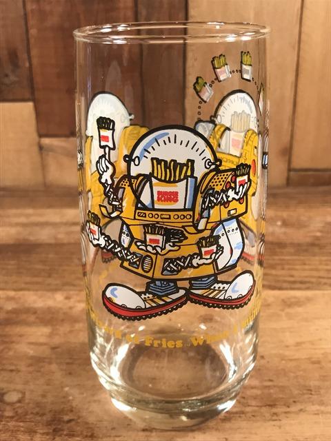 Vintage Burger King Collectors' Series Glass (3)