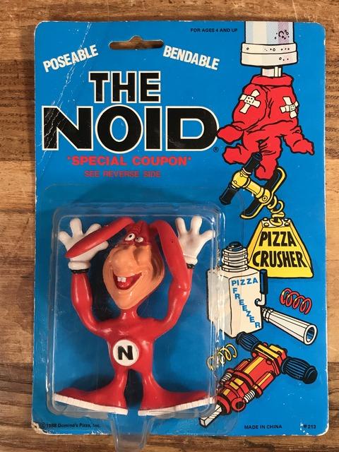 "Vintage Domino's Pizza ""The Noid"" Bendable PVC Figure (1)"