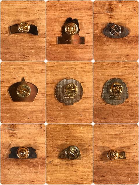 Vintage McDonald's Metal Pins (6)