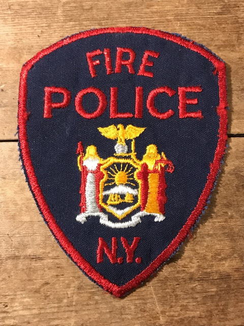 vintage fire police patch (154)