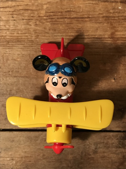 vintage disney mickey mouse airplane minicar (7)