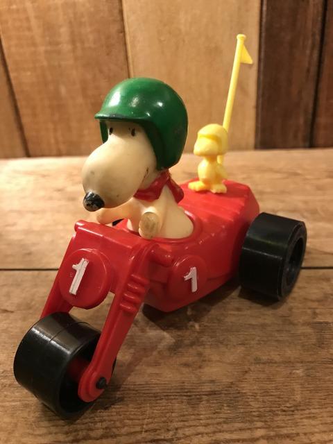 vintage snoopy peanuts buggy  car toy (1)