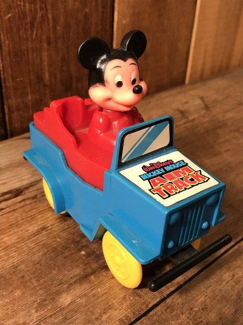 vintage disney mickey mouse car toy (3)