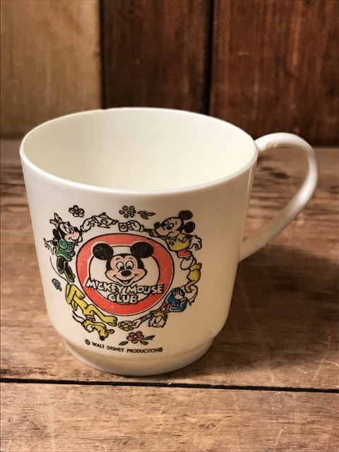 vintage disney mickey mouse club plastic cup (5)
