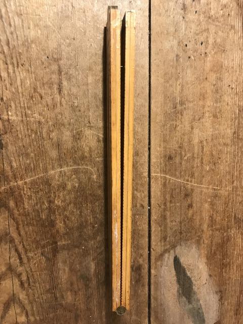 vintage folder wood yard ruler (5)
