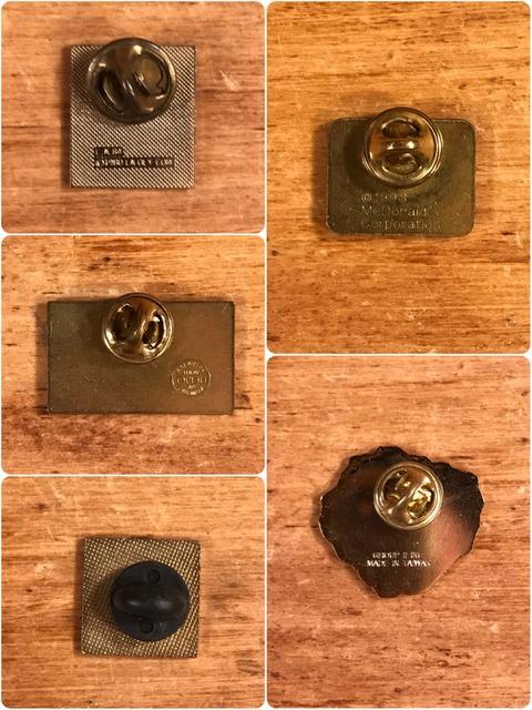 Vintage McDonald's Metal Pins (8)