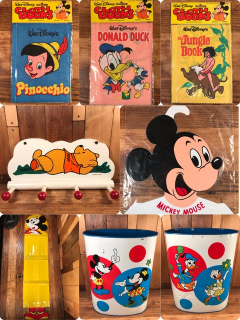 """Vintage Disney """"Mickey Mouse"""" Clothes Hanger"""