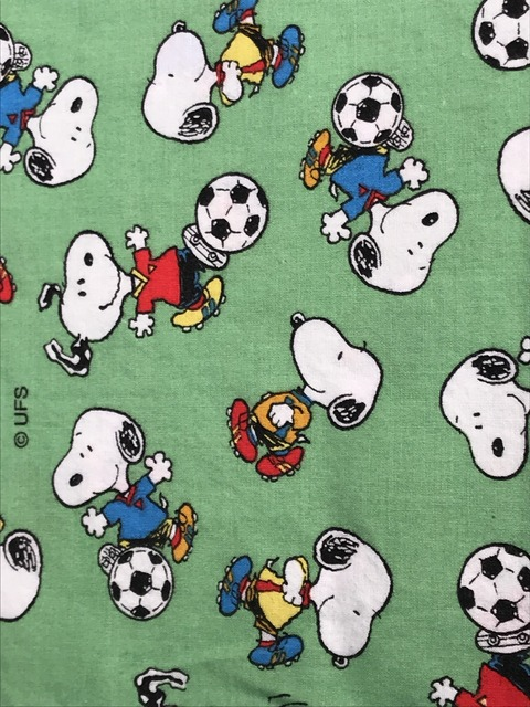 """Vintage Peanuts Snoopy """"Football"""" Pillow Case (20)"""