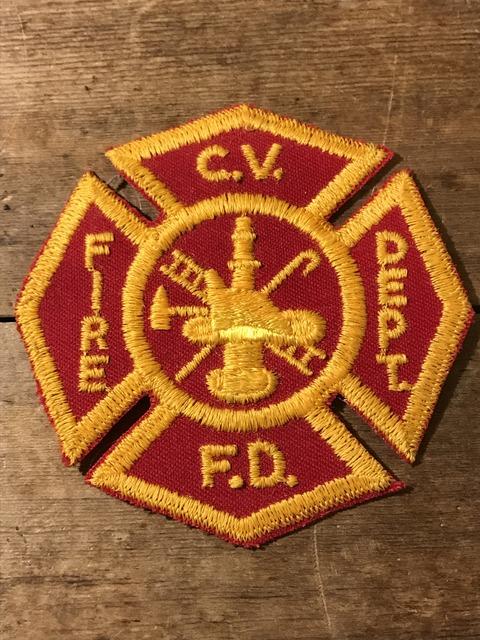 vintage fire police patch (103)