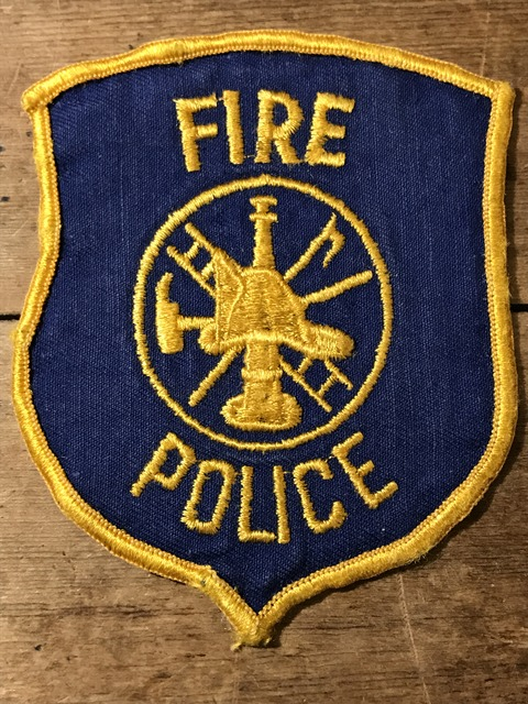 vintage fire police patch (82)