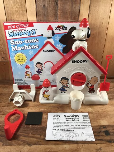 Vintage Peanuts Snoopy Sno-cone Machine (1)