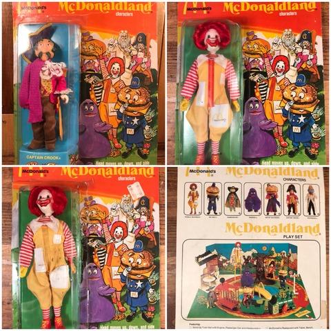 Vintage Remco McDonaldland Figure with Box