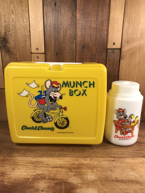Vintage Chuck E Cheese's Munch Box (1)