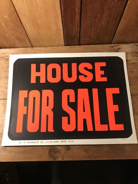 vintage house for sale hardware sign (1)