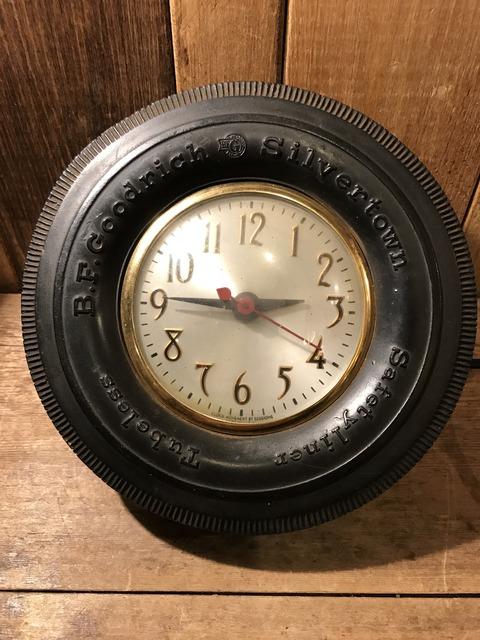 vintage BF goodrich silvertown tire wall clock (20)