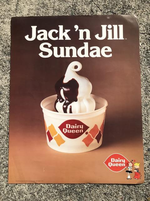 Vintage Dairy Queen Dennis The Menace Poster (3)