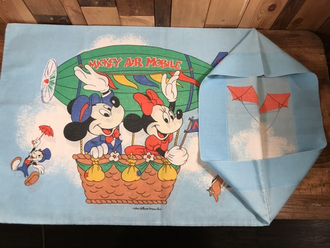 Vintage Disney Mickey Air Mobile Pillow Case (14)