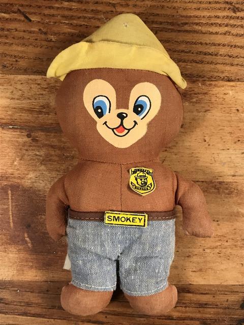 Vintage Knickerbocker Smokey Bear Miniature Doll (1)