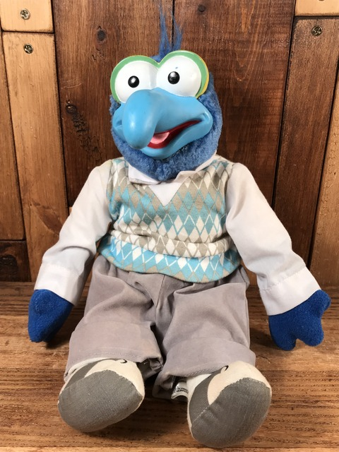 """Vintage The Muppets """"Gonzo"""" Plush Doll (1)"""