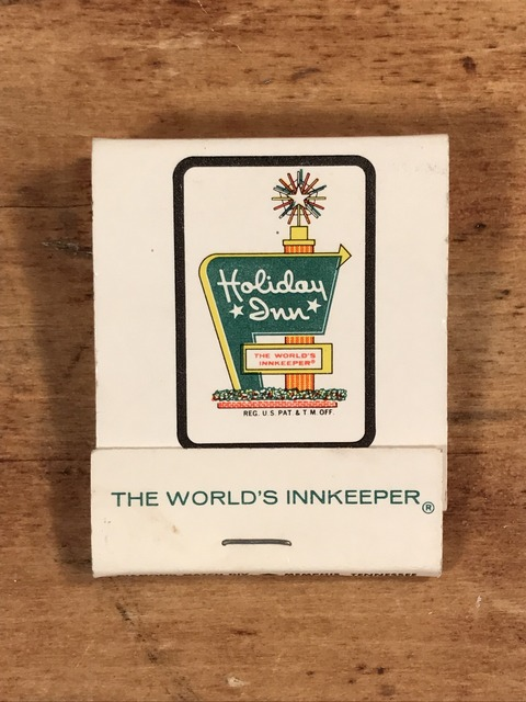 Vintage Holiday Inn The World's Innkeeper Matchbook (1)