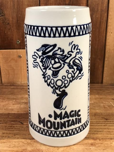 Vintage Magic Mountain Troll Beer Mug (1)