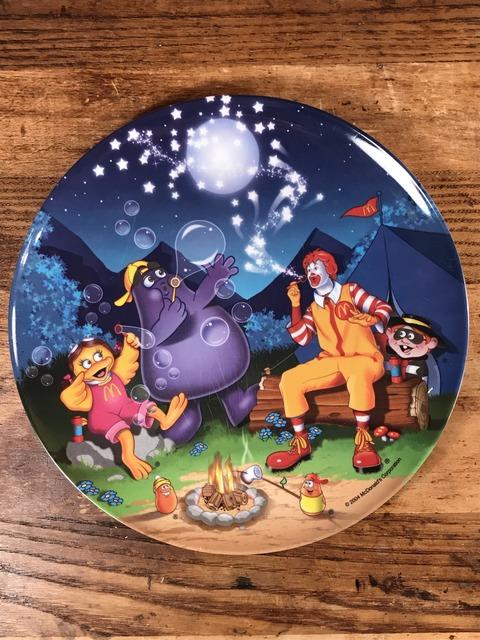 "Vintage McDonald's ""Camp"" Plastic Plate (2)"