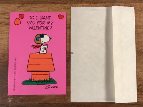 Vintage Hallmark Peanuts Snoopy Valentine Card (21)