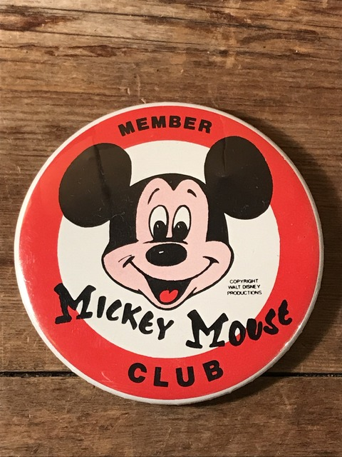 vintage disney mickey mouse club member can badge (1)