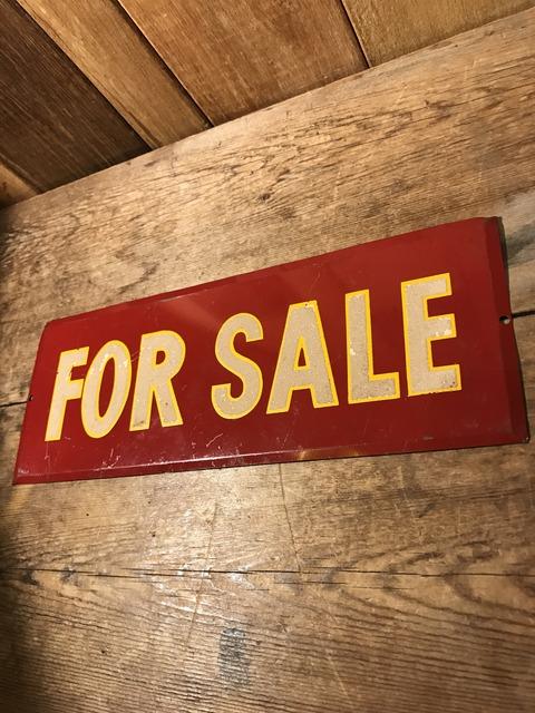 vintage for sale metal sign (2)