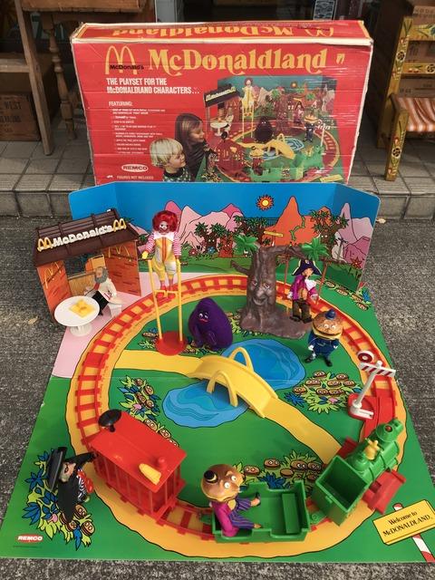 Vintage Remco McDonaldland Characters Play Set (6)