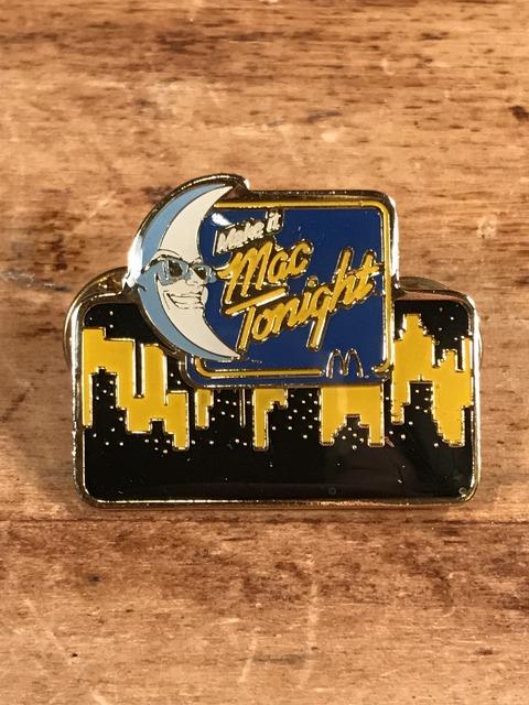 "Vintage McDonald's ""Mac Tonight"" Enamel Pins (1)"