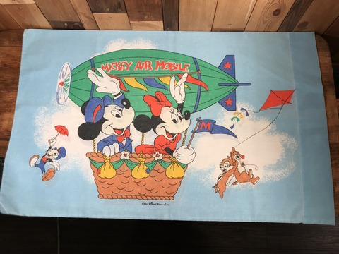 Vintage Disney Mickey Air Mobile Pillow Case (2)