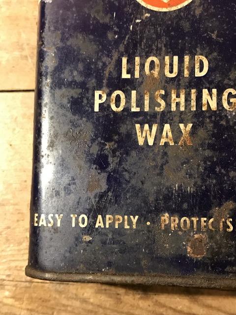 vintage firestone liquid polishing wax tin can (14)