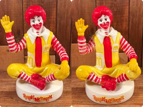 "Vintage McDonald's ""Ronald McDonald"" Plastic Coin Bank"