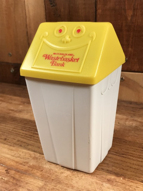 Vintage McDonaldland Wastebasket Bank (2)