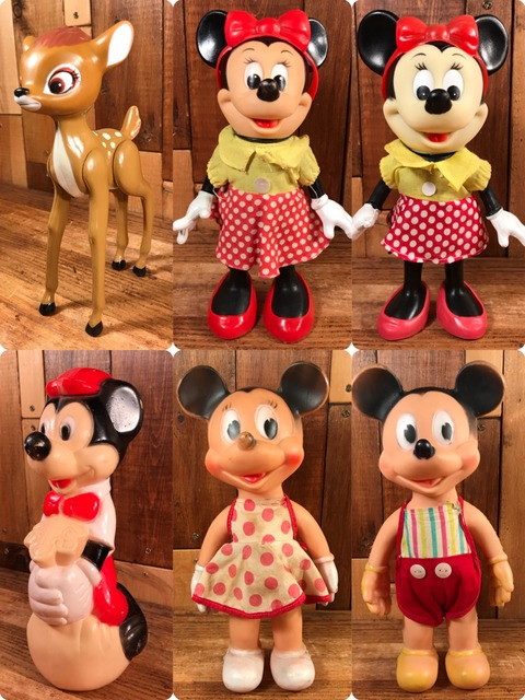 Vintage Dakin Disney Minnie Mouse Figure