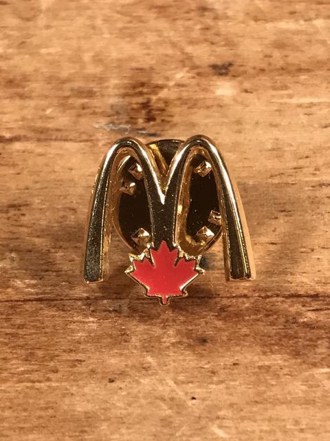 """Vintage McDonald's """"Canada Arch"""" Metal Pins (1)"""