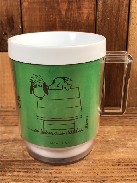 Vintage Peanuts Snoopy Thermo Mug (1)
