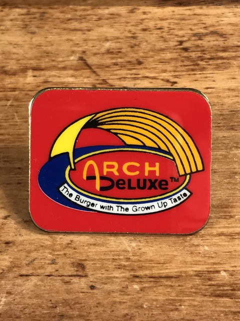 "Vintage McDonald's ""Arch Deluxe"" Metal Pins (1)"