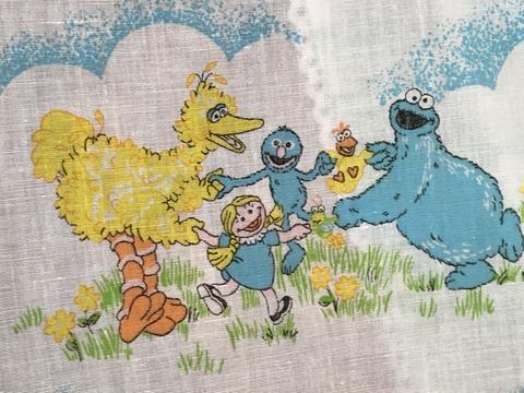 Vintage Sesame Street Cloth Hanger Bag (22)