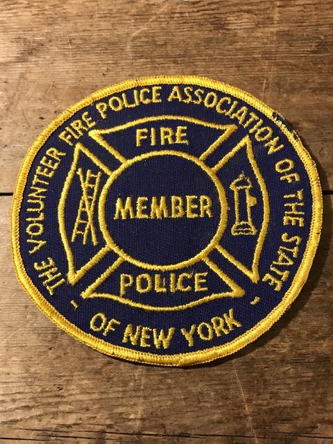 vintage fire police patch (185)