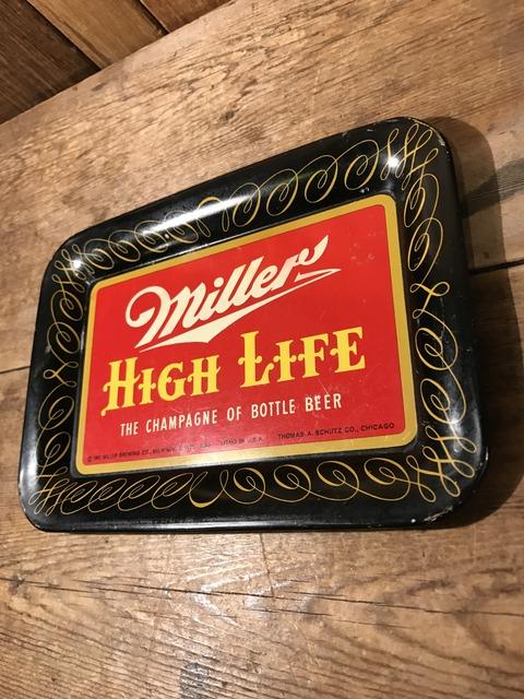 vintage miller high life tin tray (23)