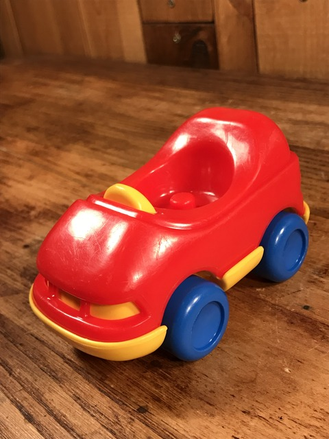 """Vintage Little Tikes Toddle Tots """"Red"""" 1-Seater Car (2)"""