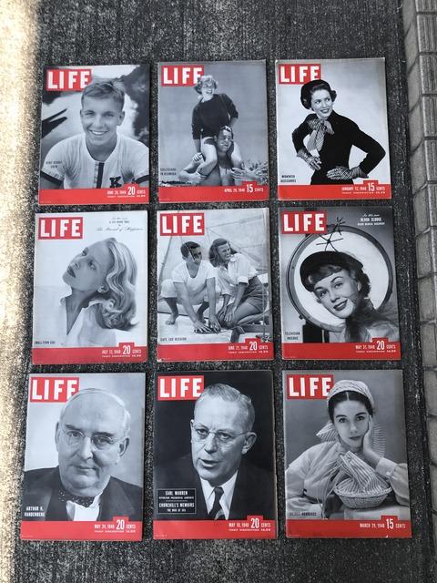 vintage 40's life magazine (2)