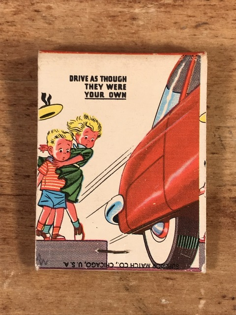 Vintage Drive As Though They Were Your Own Matchbook (1)