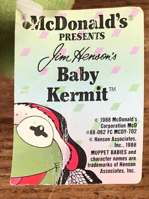 "Vintage McDonald's Muppet Babies ""Baby Kermit"" Plush Doll (20)"