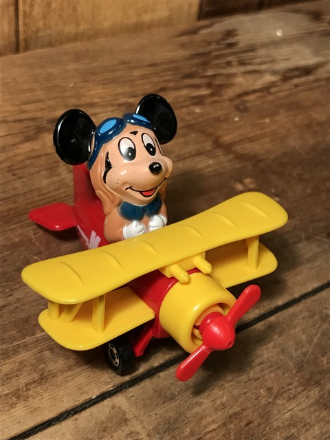 vintage disney mickey mouse airplane minicar (3)