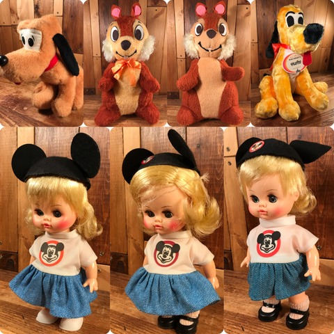 Vintage Mickey Mouse Club Mouseketeer Girl Doll